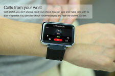 DM98 WIFI Wireless Smart Watch Phone + Camera SIM Card For iOS Samsung LG Phones