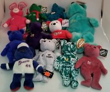 Lot of 26 Sports Bears ~With Tags~ BAMM BEANO'S ~ Ken Griffey Jr.~Kentucky~Jets
