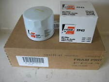 Fram Pro FP43 Oil Filter CASE(6 SIX) fits PH30 PF25 L20049 B27 LF25 51046