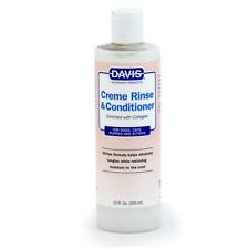 Davis Creme Rinse & Conditioner, 12 oz