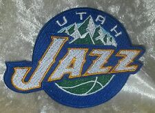 "Utah Jazz 3.5"" Iron On Embroidered Patch~USA~FREE Ship"