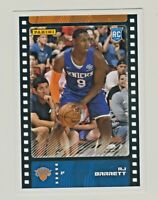 2019-20 Panini Sticker Collection FULL SIZE #83 RJ BARRETT RC Rookie NY Knicks