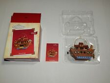 Noah's Ark, Hallmark Keepsake Ornament Features Movement, 2004