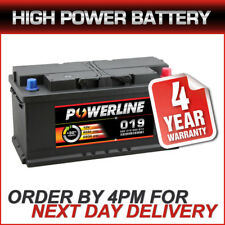 019 Powerline Car / Van Battery fits Iveco Jaguar Jeep Land Rover Mercedes