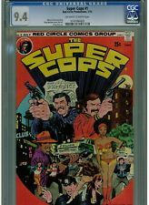 SUPER COPS #1 CGC 9.4 NEAR MINT RED CIRCLE COMICS 1974 OFF WHITE TO WHITE PAGES