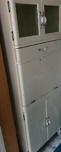 Vintage Retro kitchen larder cabinet kitchenette 1950s-60s. UK Made by Fortress