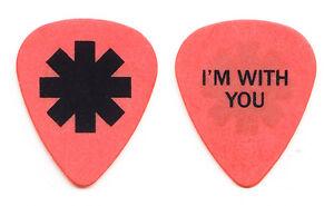 Red Hot Chili Peppers Josh Klinghoffer Orange Guitar Pick - 2012 Tour RHCP
