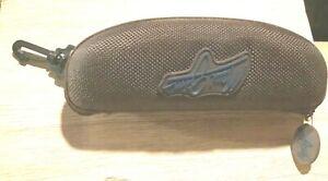 Maui Jim Brown Semi-hard Sunglass case Great condition*small size