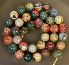 6MM Multi-color Picasso Jasper loose beads 15inch For Jewelry