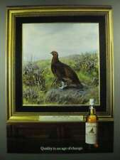1983 The Famous Grouse Scotch Ad - Quality in an Age of Change