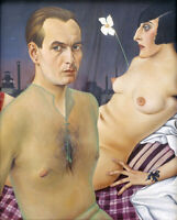 Christian Schad : Self-portrait : 1927  : Archival Quality Art Print