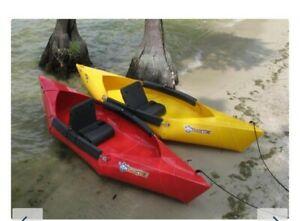 TUCKTEK FOLDABLE KAYAK BLUE COLOUR