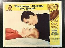 LOVER COME BACK 1962 ORIGINAL LOBBY CARD -  ROCK HUDSON, DORIS DAY, TONY RANDALL