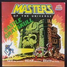 Vintage 1983 He-Man CASTLE GREYSKULL BOOK No Record MOTU