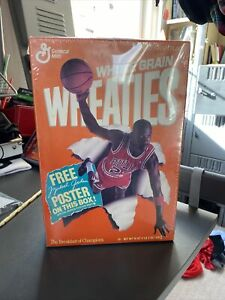 michael jordan wheaties box unopened