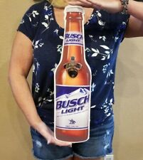 Mancave Beer Bottle Opener Busch Light Bar GarageIpa Dorm Room Sign