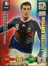 Panini Adrenalyn XL World Cup Yoann Gourcuff Limited Edition 2010 South Africa