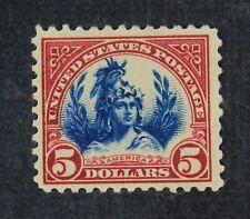 Ckstamps: Us Stamps Collection Scott#573a $5 Mint H Og