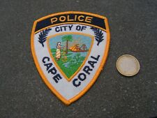 PATCH POLICE ECUSSON COLLECTION  USA   police cape coral