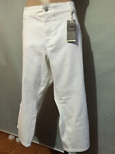 BNWT Womens Sz 26 Autograph White Stretch Denim The Secret Crop Jeans RRP $70