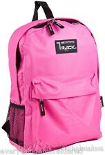 """Personalized Backpack Book Bag Pink Initial(s) or Name Free 16.5x13x4"""" Warranty!"""