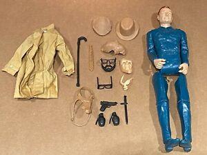 LOT Vintage Marx Johnny West Mike Hazard Double Agent Spy Accessories RARE