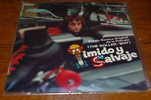 STELVIO CIPRIANI - THE ROLLER BOY / TIMIDO Y SALVAJE BANDA - LP 33T HISPAVOX
