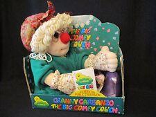 """1997 The Big Comfy Couch Granny Garbanzo Plush Ragdoll in Box 22"""" Commonwealth"""