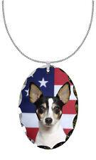 Toy Fox Terrier Pendant / Necklace