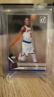 2019-20 Panini Clearly Donruss RJ Barrett Rated Rookie RC Variation Acetate