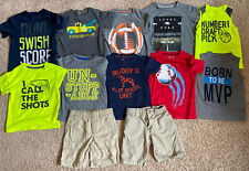 Boys 4T 4 Old Navy Carters Jumping Beans Summer Clothes Shirt Lot 12