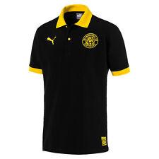 Polo-Shirt Retro Borussia Dortmund BVB Polo Shirt von PUMA Stencil Gr.XL schwarz