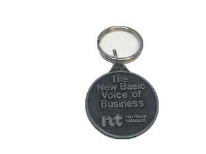Vintage Telecom Service Provider Promo Key Ring NORTHERN TELECOM Porte-Clés NT