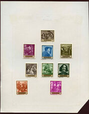 Spain MH Album Page Of Stamps #V1955