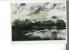 (127A) Photo press USA USIS Teton lac Jackson Wyoming