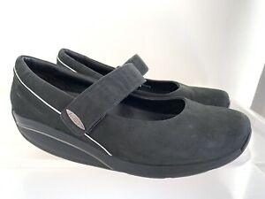 MBT Black Leather Mary Jane Sneakers Size US 9 - 9.5 #19783