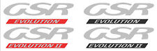 Hood Bonnet Decal EVO 1 2 CD9A CE9A Lancer Evolution JDM 4G63 GSR RS Mitsubishi