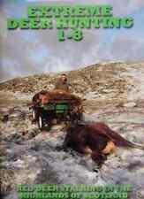 EDH 1-8 UK RED DEER STALKING HUNTING SCOTLAND 8 DVD'S