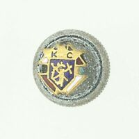 Knights of Columbus - Vintage Pin Cross Crest Small Lapel Vintage Fraternal