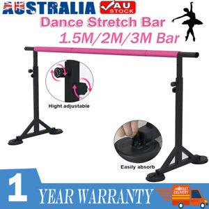 1.5/2/3M Length Ballet Barre Portable Freestanding Stretch Dance Bar Adjustable