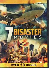 7movie DVD Crash Landing,FIRESTORM,Death Flight,CRASH DIVE,COUNTDOWN ARMAGEDDON