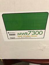 Motorola Mwr7300 Mesh Mobile Wireless Router- Brand New