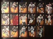 1995 PINNACLE ZENITH FOOTBALL COMPLETE YOUR SET LOT Rod Woodson Art Monk HOFs