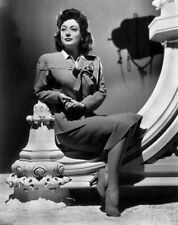 A Joan Crawford Black And White Legs Crossed 8x10 Picture Celebrity Print