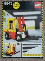 Lego 8843 Pneumatic Fork Lift Instructions