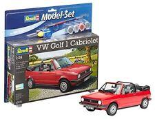 Revell Model-set VW Golf 1 Cabriolet - Maquette