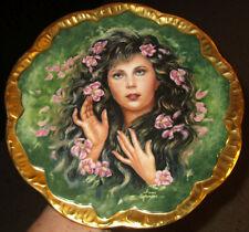 Wild Irish Rose Plate Irene Spencer 1982 Pickard China LE Symphony of Roses