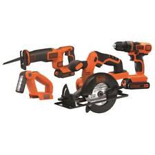 Black & Decker BD4KITCDCRL 20V MAX Drill/Driver Circular and Reciprocating Saw W