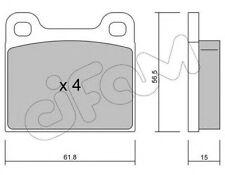 Kit pastiglie freno CIFAM 822-003-0 asse anteriore