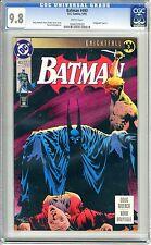 Batman #493  CGC  9.8  NMMT  white pages